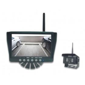 """Drahtlose Rückfahrkamera im Set mit 7"""" Monitor"""