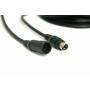 Mini-DIN m/w Kabelverlängerung Vacron