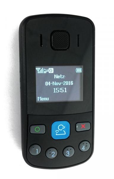 Notfalltelefon mit GPS-Ortung und Sturzmelder - GT301