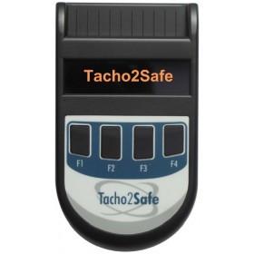 Tacho2Safe für manuelles Tachograph Auslesen