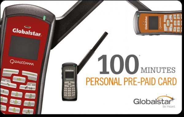 Globalstar Prepaid-Karte personal
