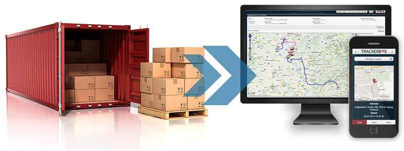 GPS-Tracking für Container