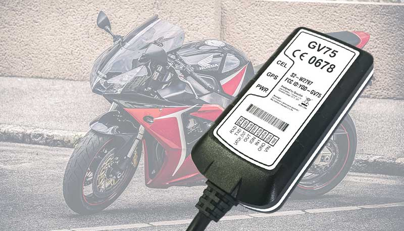 Motorrad GPS-Tacker