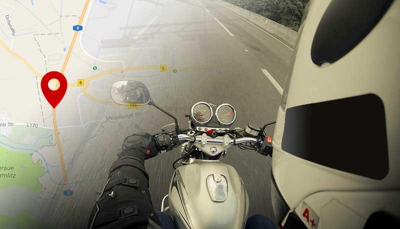 Motorrad GPS-Tracking