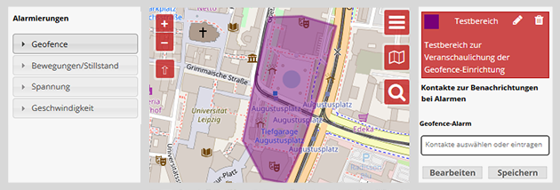 Trackerbox Geofence
