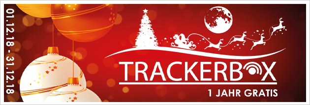 Trackerbox - SonderAngebot - 12 Monate GRATIS