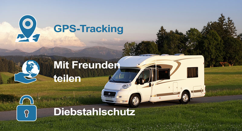 gps tracking und diebstahlschutz f r wohnmobile. Black Bedroom Furniture Sets. Home Design Ideas