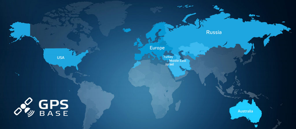GPS Datenbank - Kartenansicht