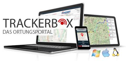 Ortung per Trackerbox auf dem Smartphone, Tablet und Computer